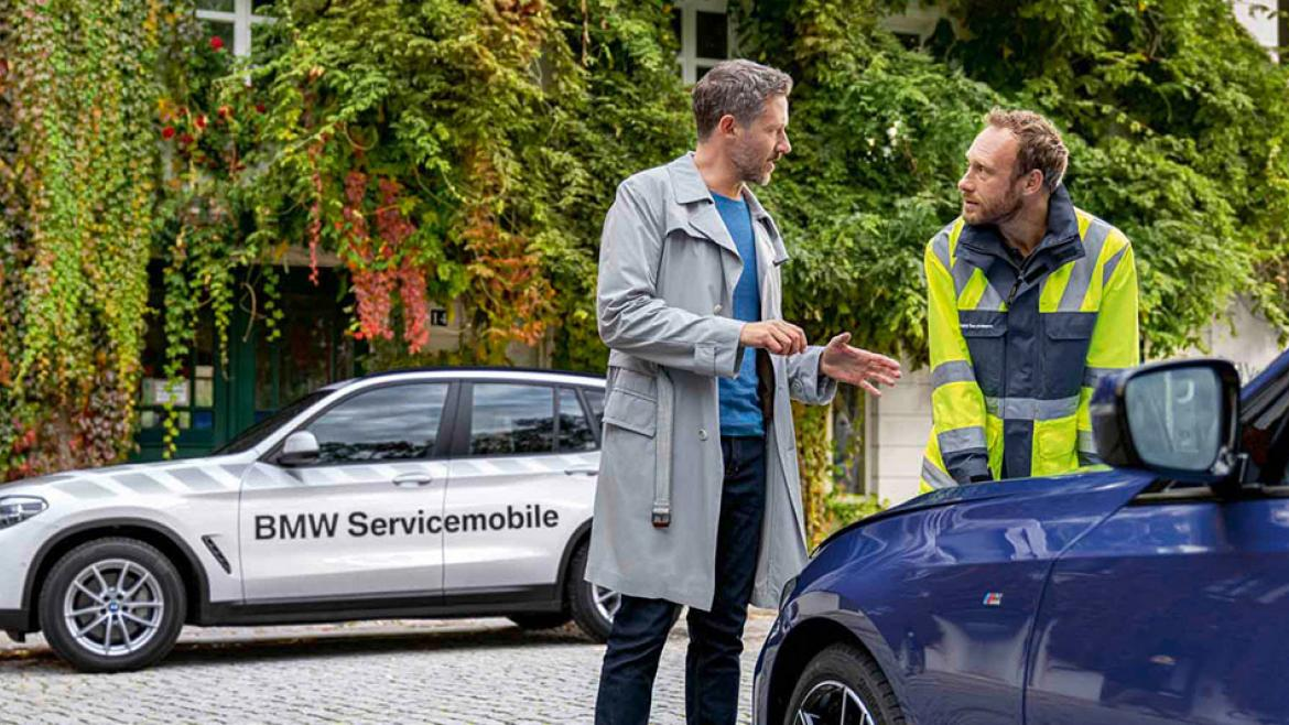 BMW Road Assist: levenslange bijstand